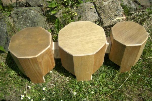 Woodi-Drum 3er, Holztrommel für Kinder