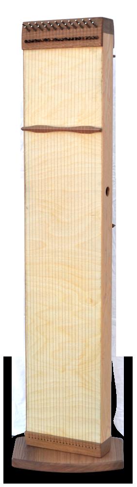 Multichord Aton 120 Seitenansicht aufrecht mit Bodenplatte