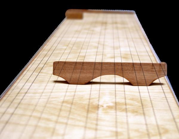 Multichord Gaya 140 Steg mit 6 Doppelsaiten vom Stringboard