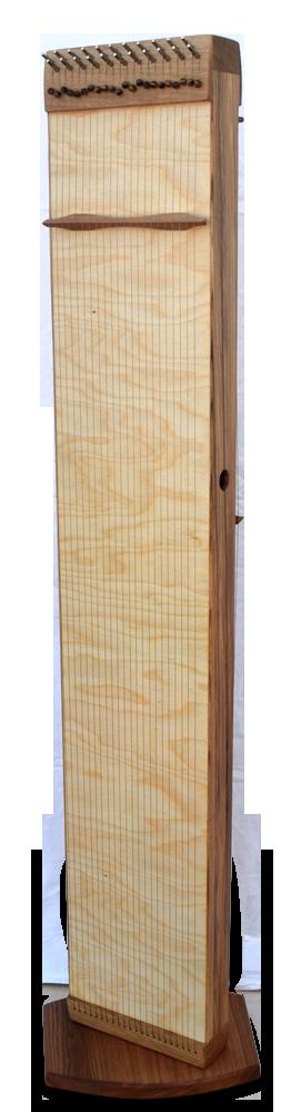 Multichord Gaya 140, aufrecht, Monochord Spielfläche mit Ständer