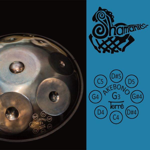 Handpan Shamanic GA-1