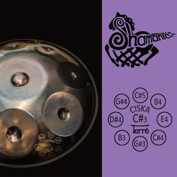 Handpan Shamanic Cis-1