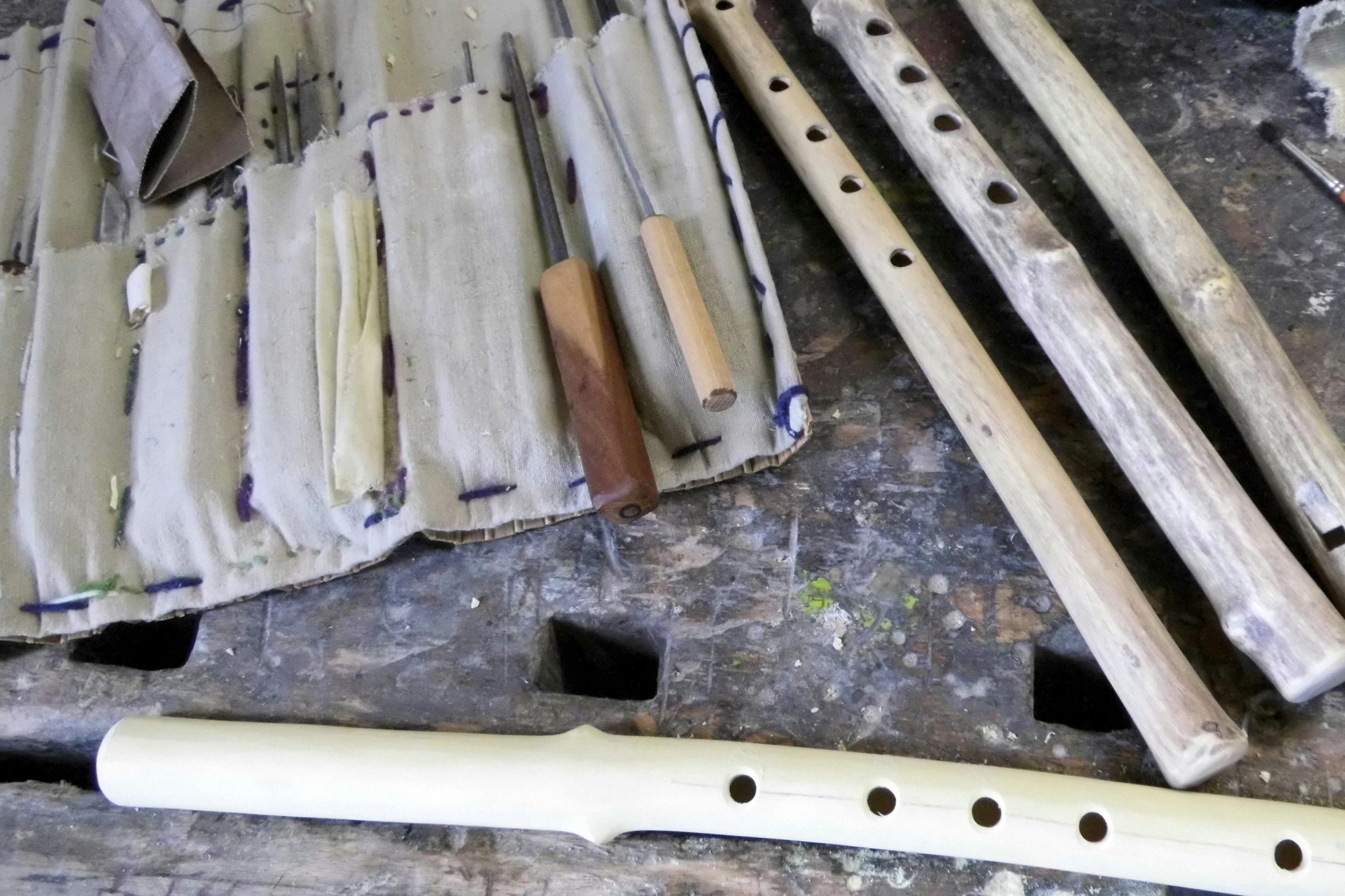 Flöten Werkstatt