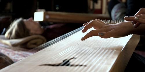 Klang-Bbegegnungstag, monochord spielen üben