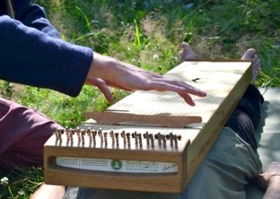 monochord hände