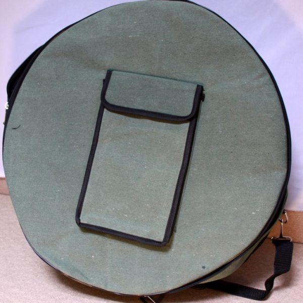 Tasche für Rahmentrommel aus Leinenstoff