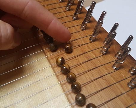 Monochord Feinstimmer Perlen