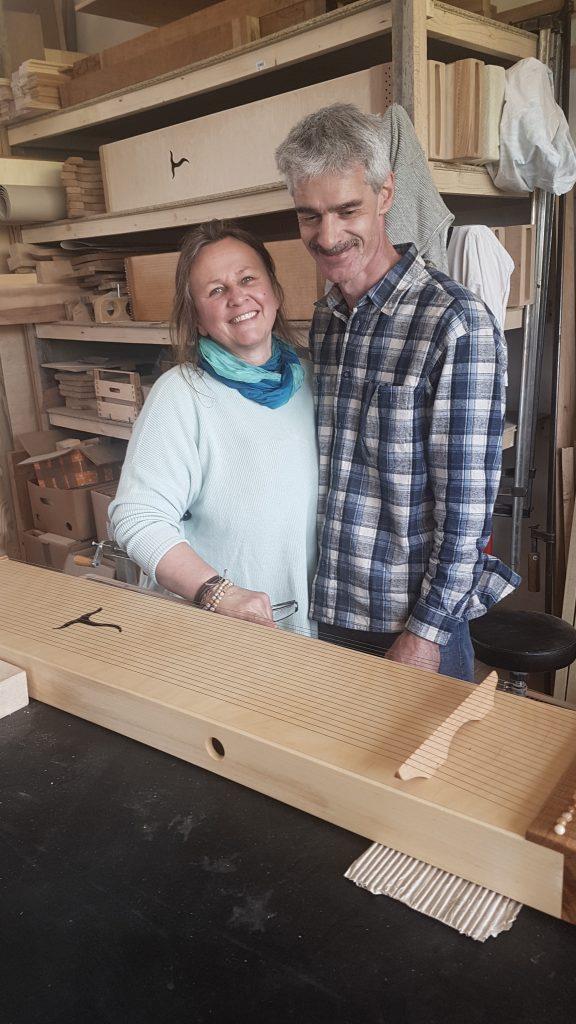 fast fertig - Monochord Bau Workshop als Paar